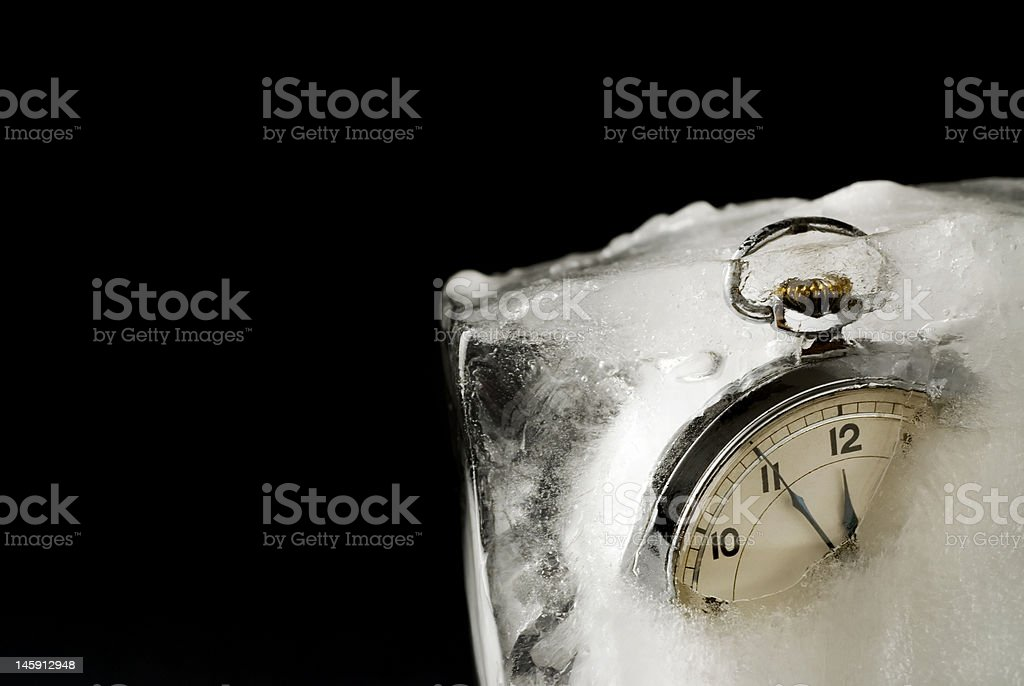 Frozen Time royalty-free stock photo