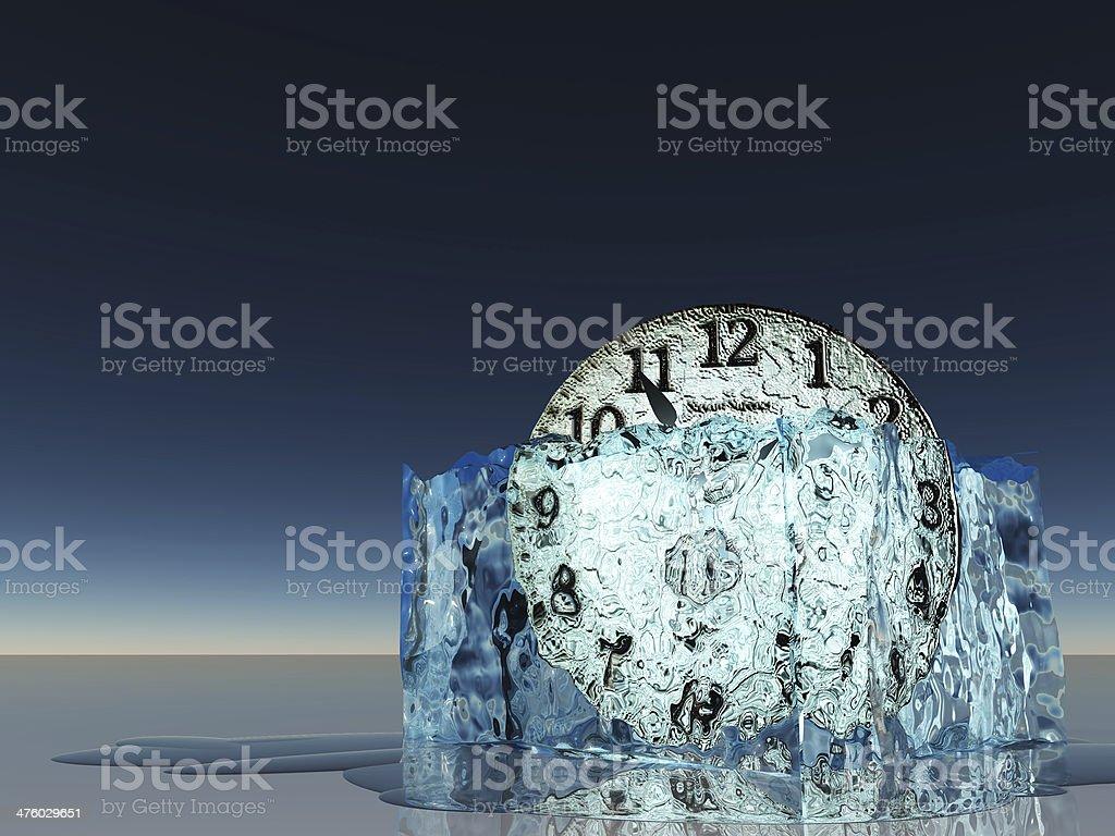 Frozen Time royalty-free stock photo