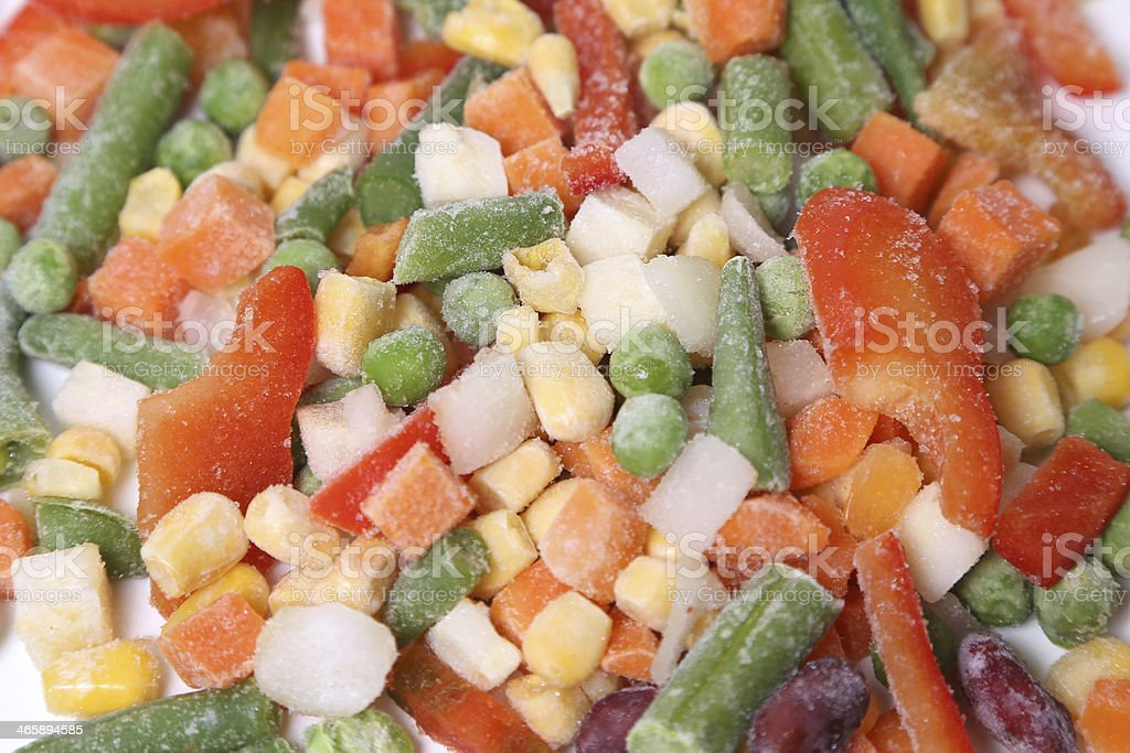Frozen vegetables royalty-free stock photo