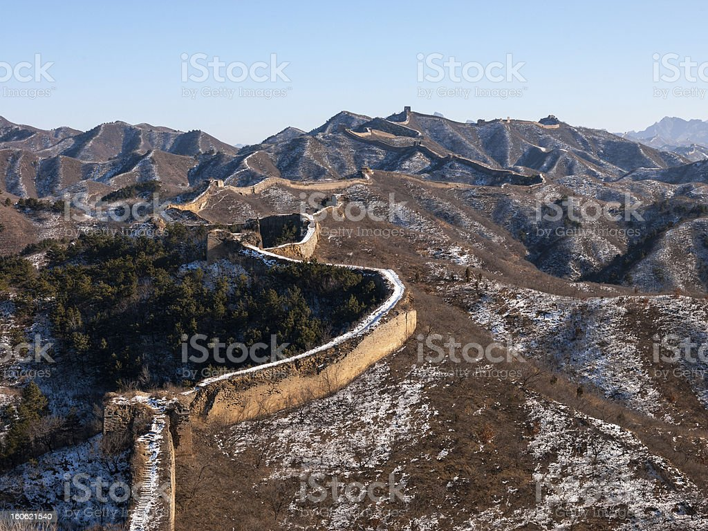 Frozen Wall royalty-free stock photo