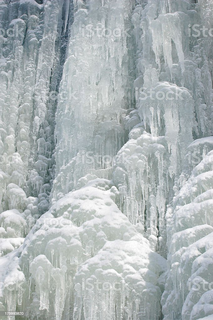Frozen Water Fall II royalty-free stock photo