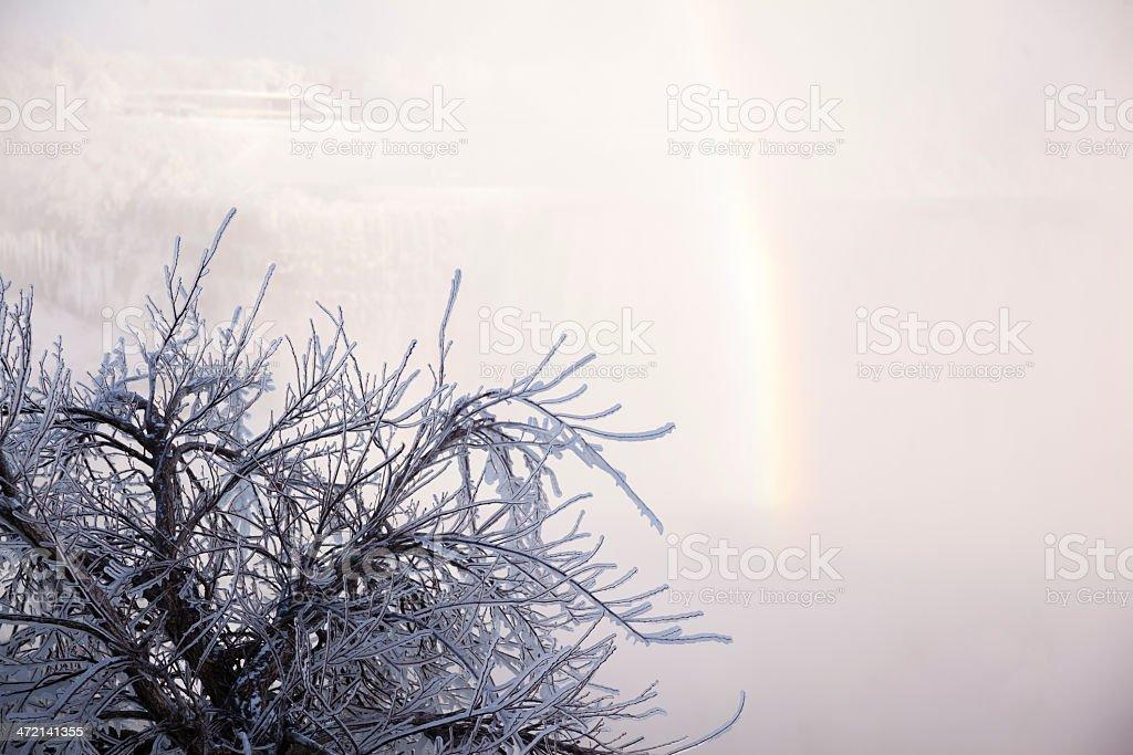 Frozen Winter Niagara Falls royalty-free stock photo
