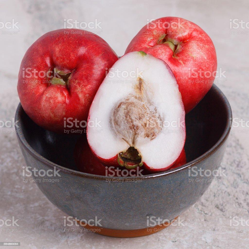 Fruit Acmella oleracea (jambu, toothache plant, paracress, elect stock photo