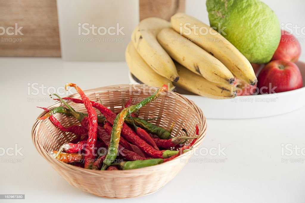 Fruit and spice. royalty-free stock photo
