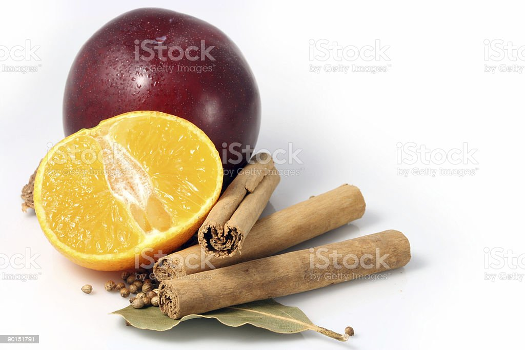 fruit and spices royalty-free stock photo