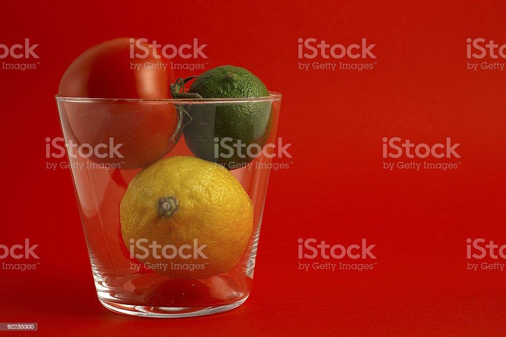 Fruit and tomato royalty-free stock photo