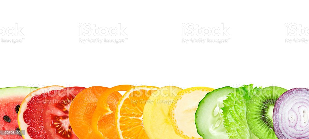 Fruit and vegetable stock photo