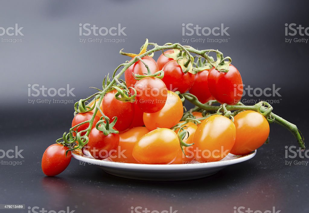 Fruit and vegetable variety?yellow cherry tomato. royalty-free stock photo