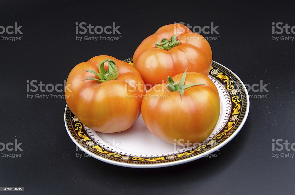 Fruit and vegetable variety:yellow cherry tomato. royalty-free stock photo
