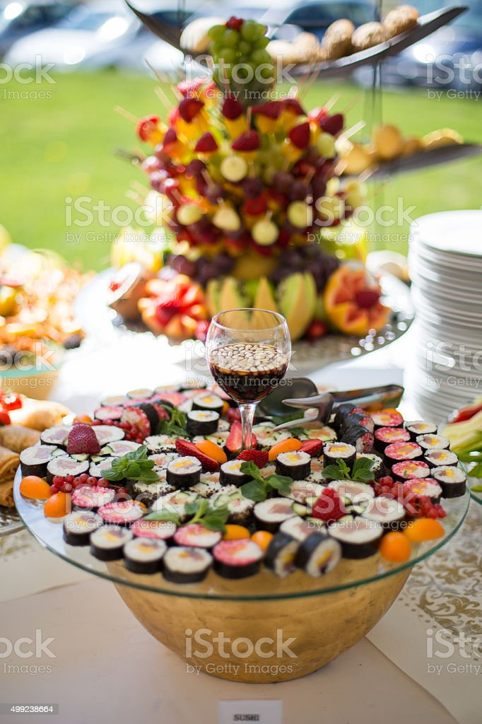 Fruit and vegetables,food decor stock photo