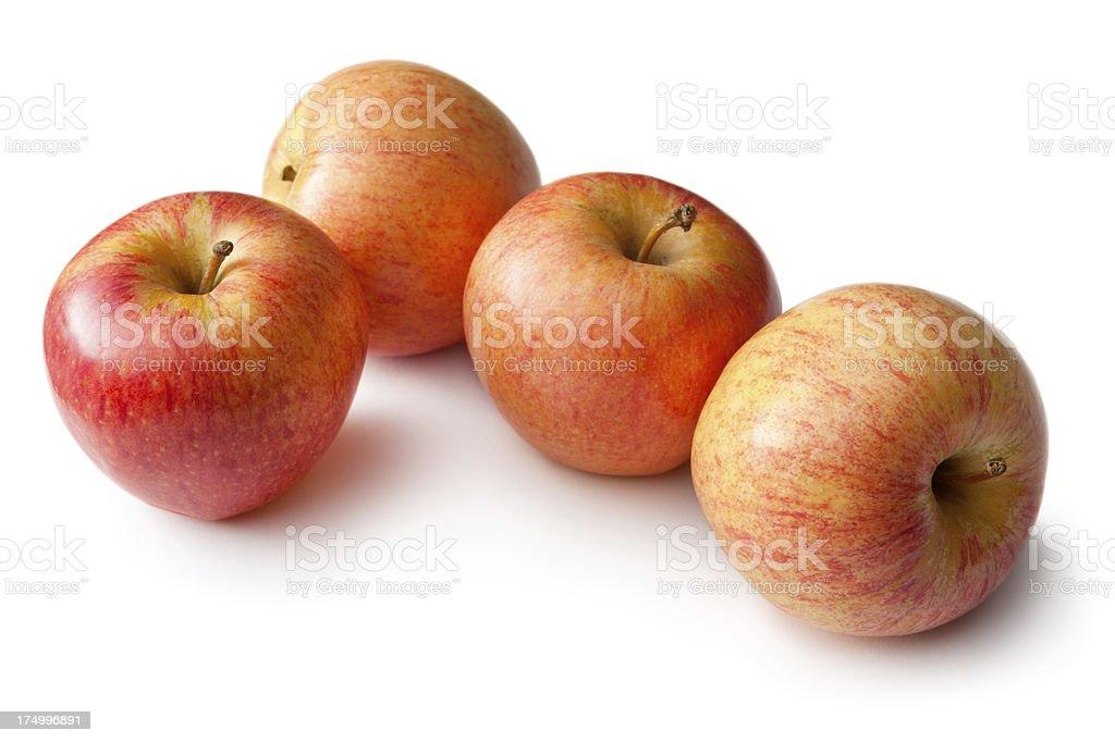 Fruit: Apple Isolated on White Background royalty-free stock photo