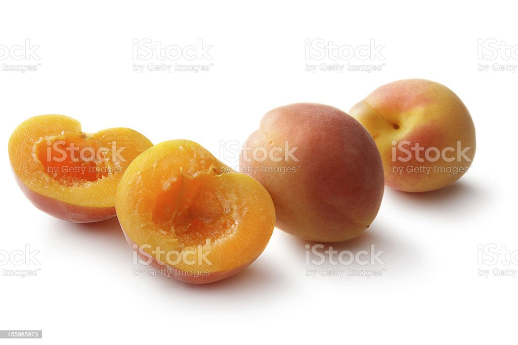 Fruit: Apricot royalty-free stock photo