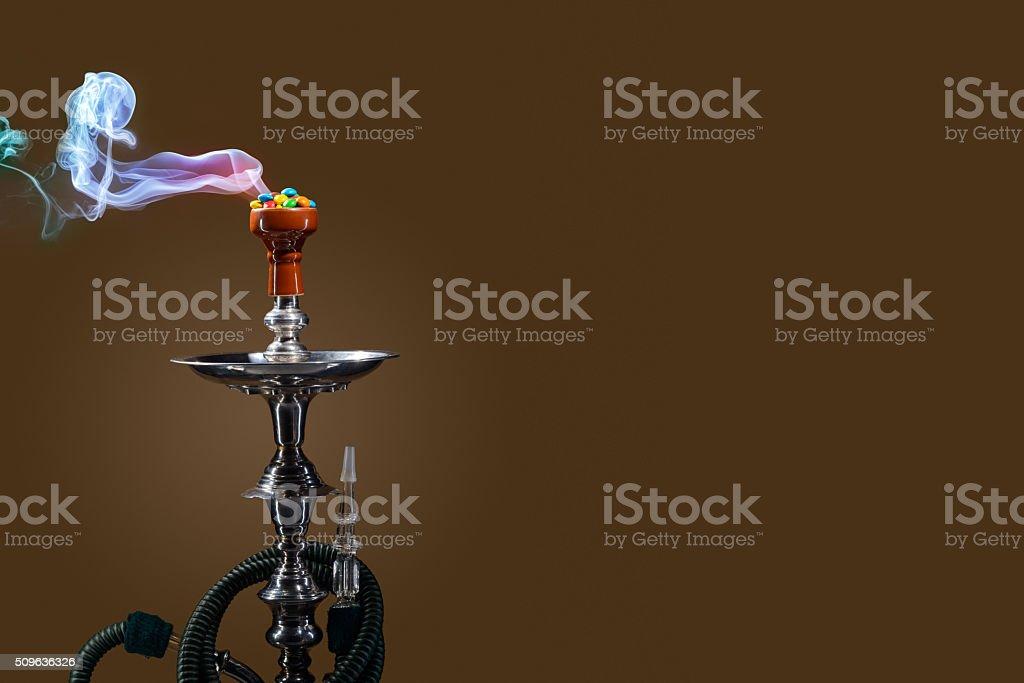 Fruit aroma hookah stock photo