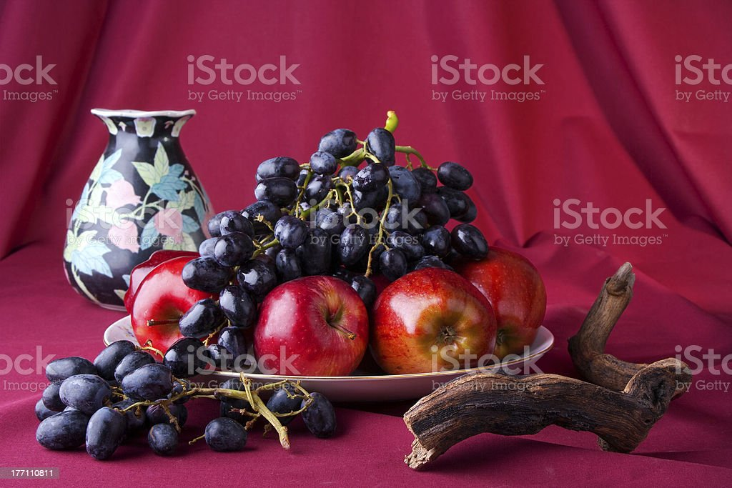 Fruit arrangement royalty-free stock photo