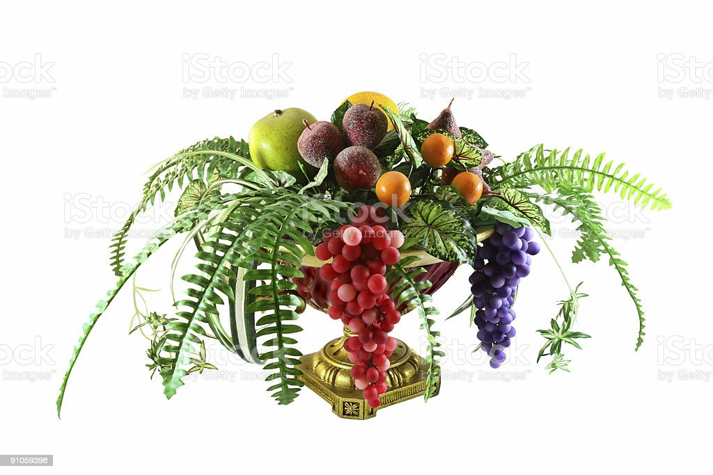 Corbeille de fruits photo libre de droits