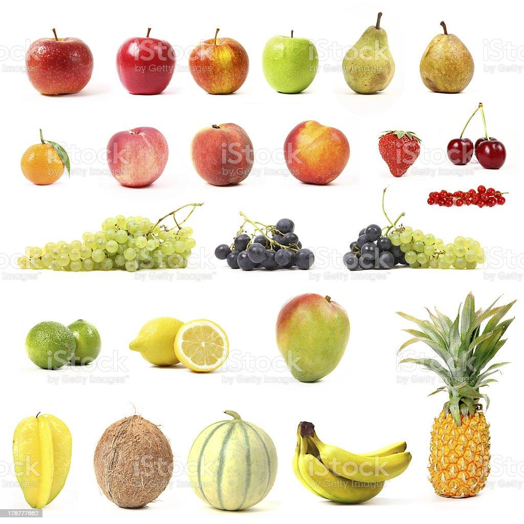 fruit assortment royalty-free stock photo