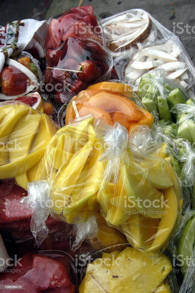 Fruit Bags royalty-free stock photo
