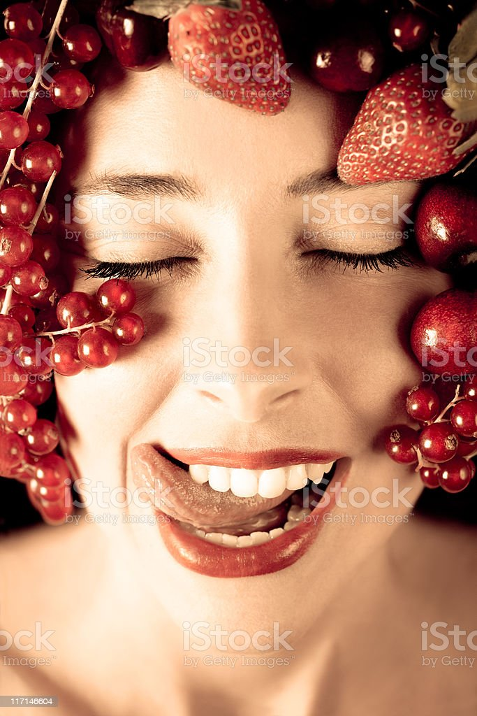 Fruit Beauty royalty-free stock photo