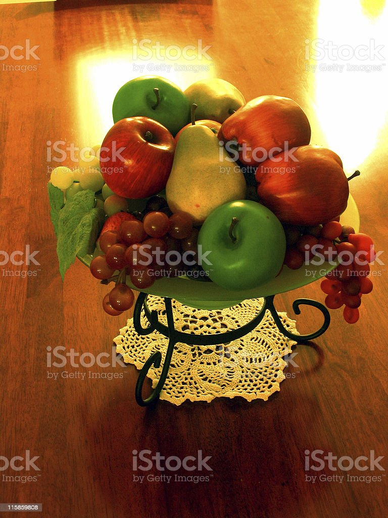 Fruit  Bowl royalty-free stock photo