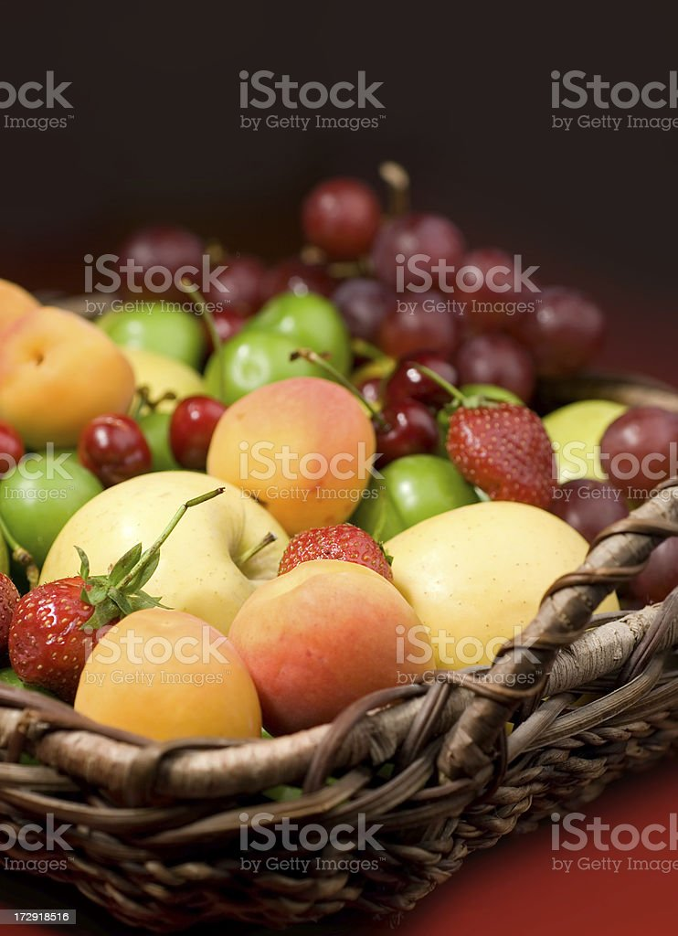 Fruit bowl royalty-free stock photo