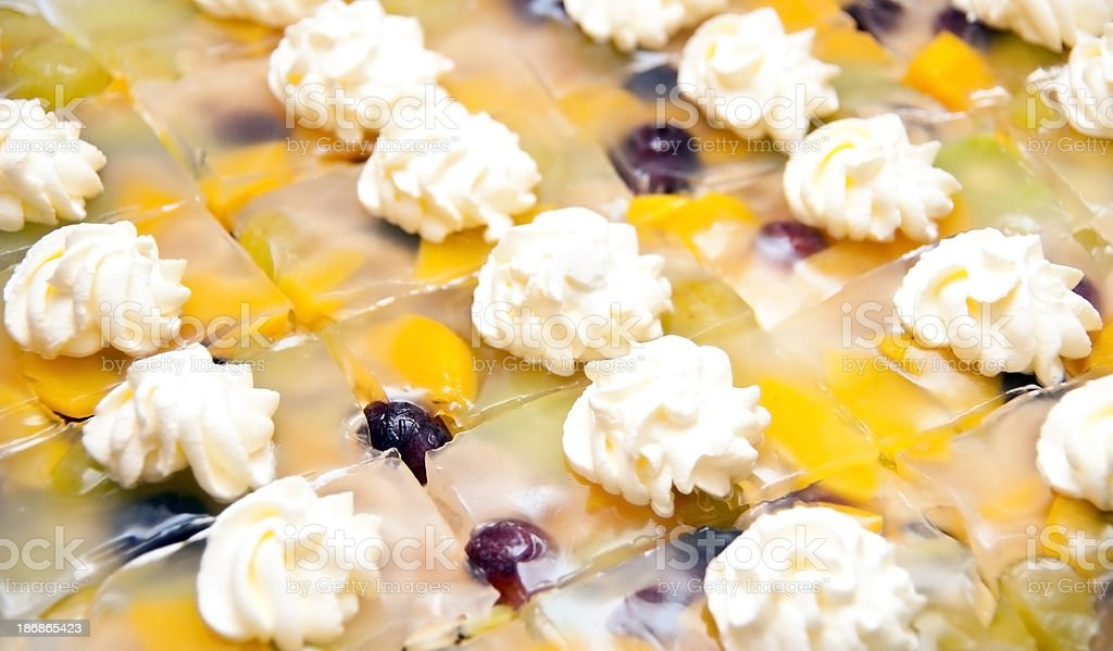 fruit cake - Fruchtschnitte stock photo