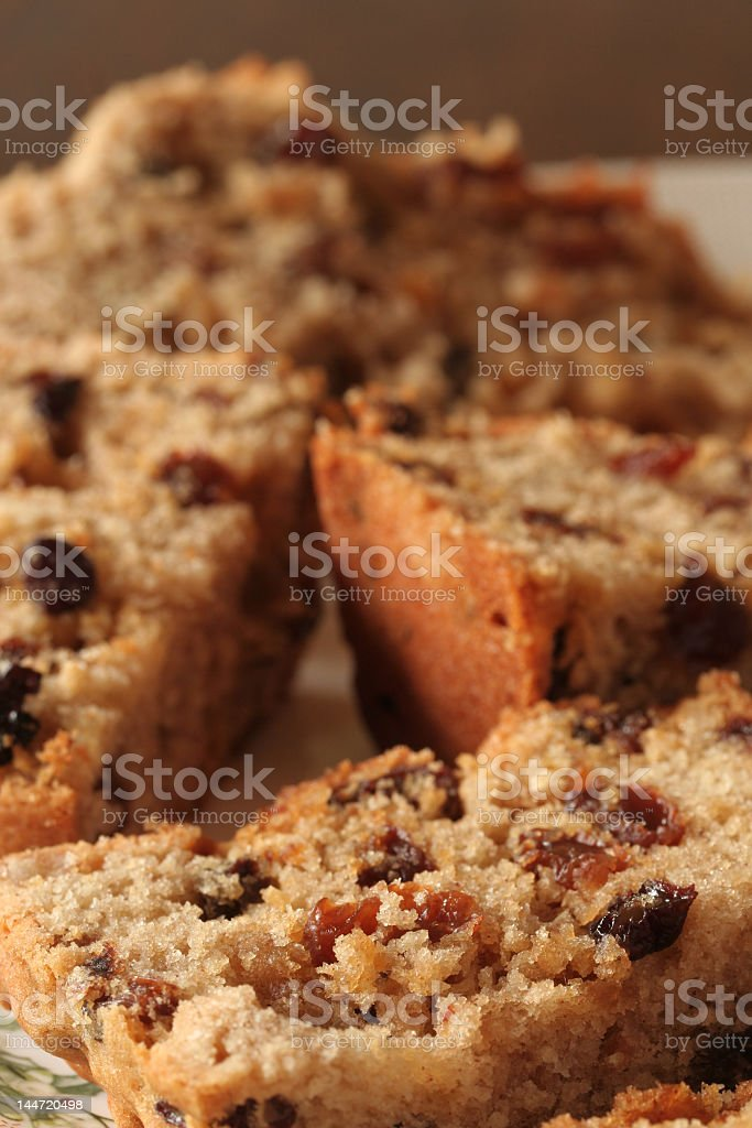 fruit cake stock photo