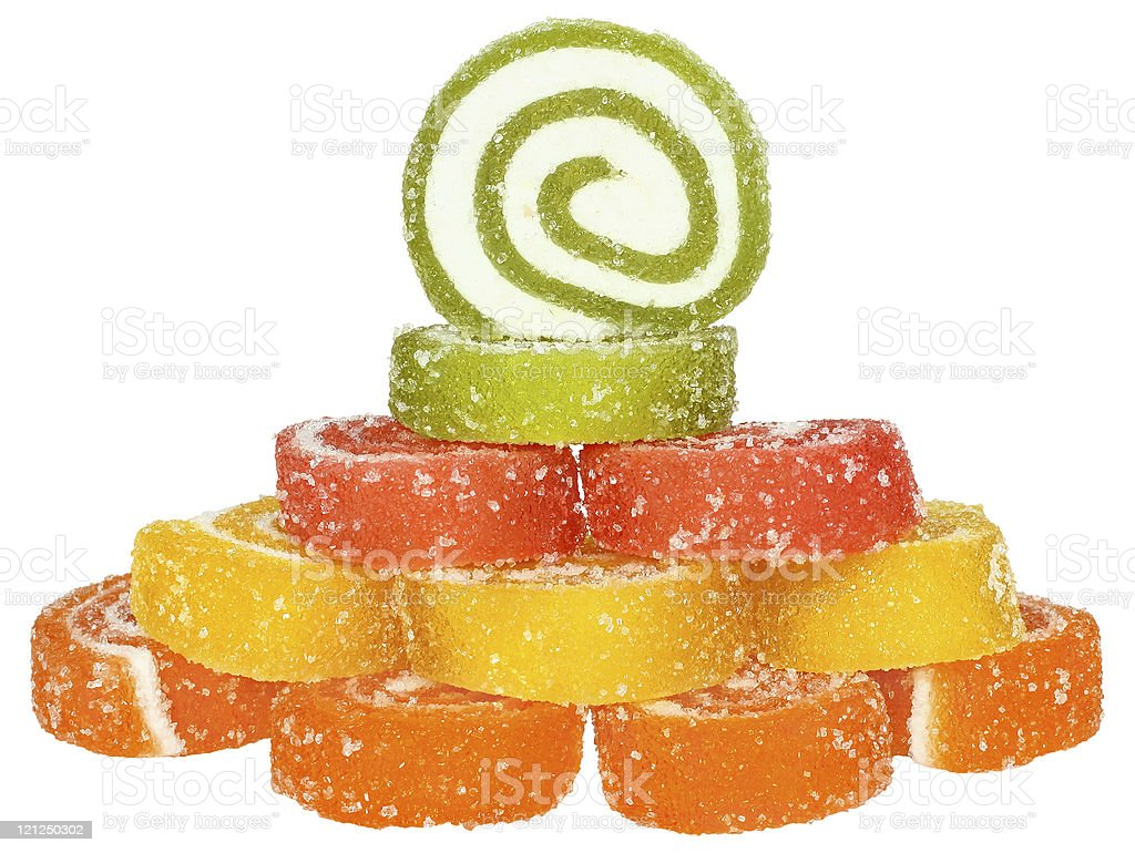 Fruit candy. stock photo