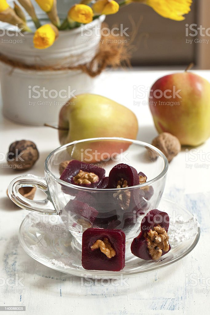 Fruit candy stock photo