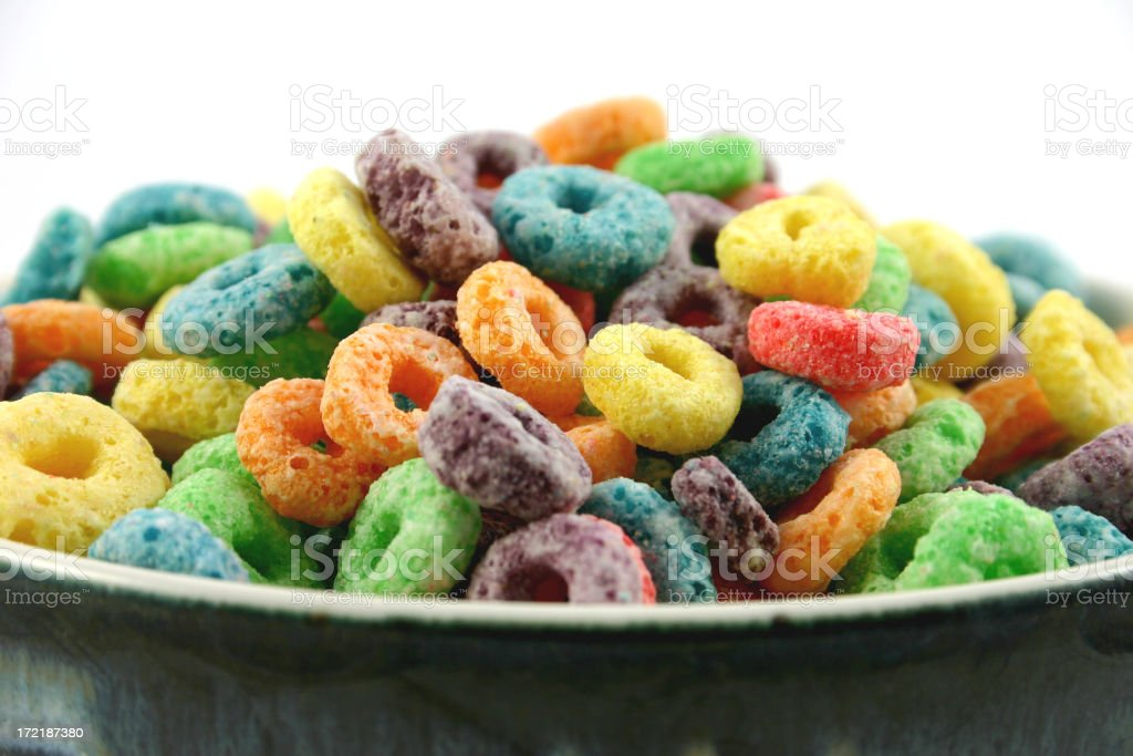 fruit cereal 1 of 4. stock photo