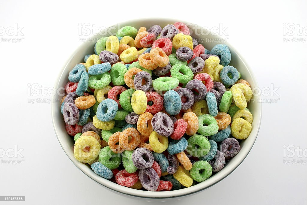 fruit cereal 2 of 4. stock photo