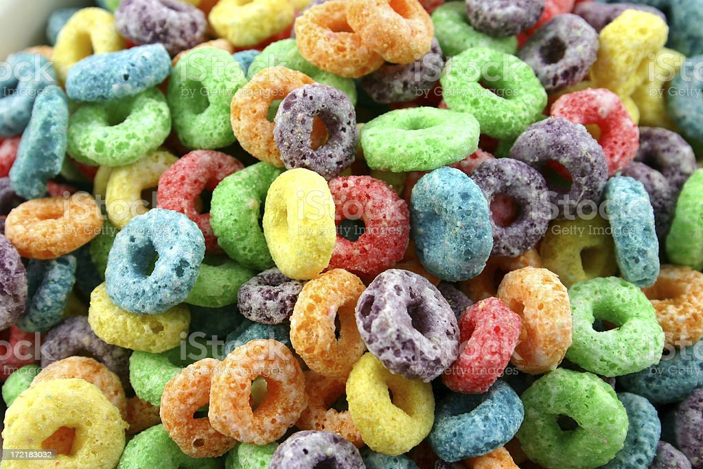 fruit cereal 4 of 4. stock photo