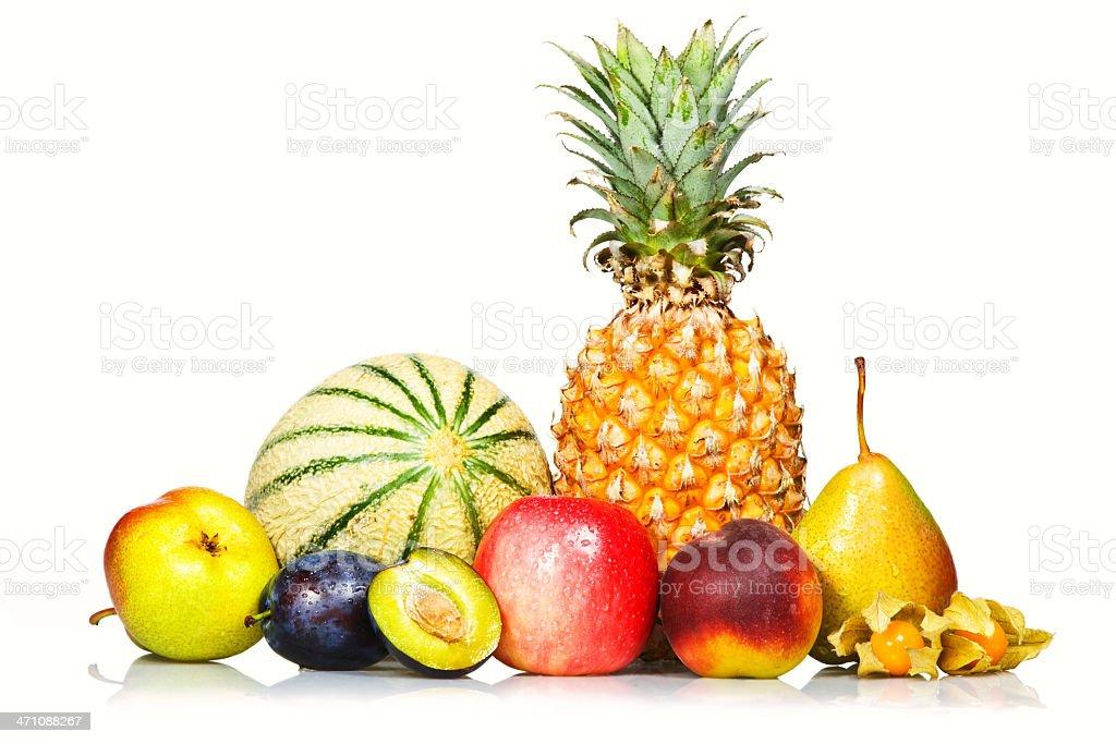 Fruit choice royalty-free stock photo