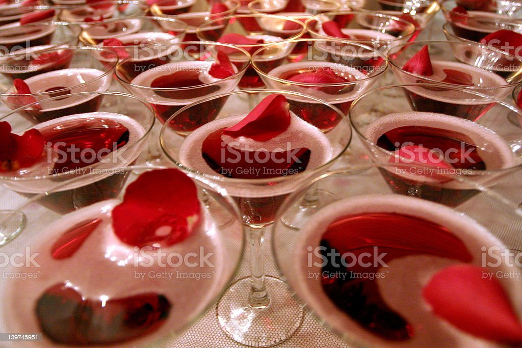 Fruit Cocktail royalty-free stock photo
