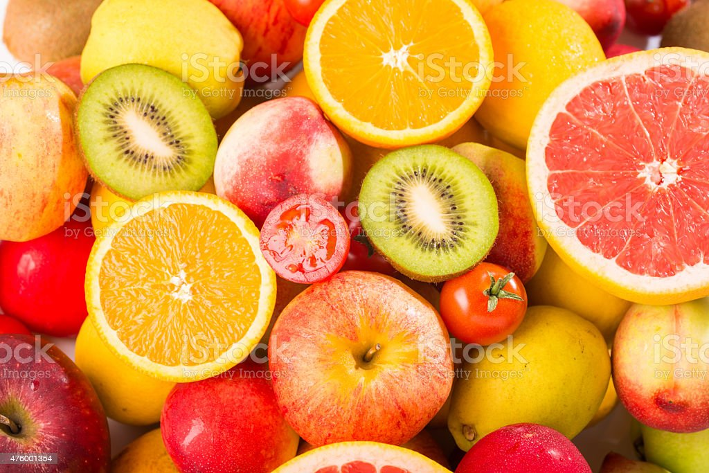 fruit combo stock photo