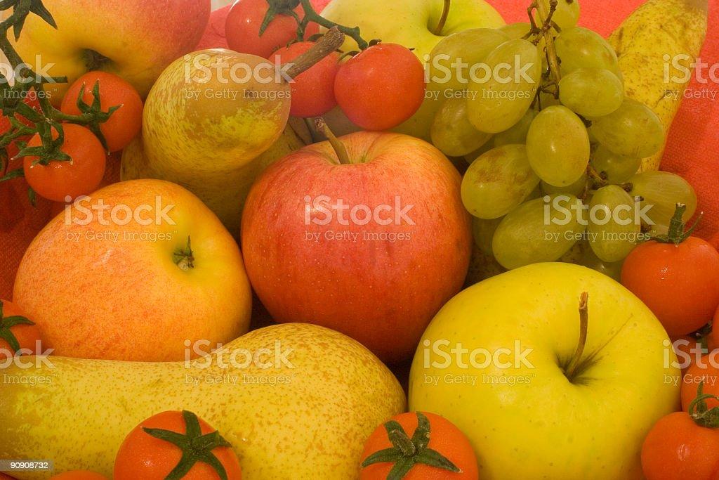 Fruit Composition, Full-frame Image royalty-free stock photo