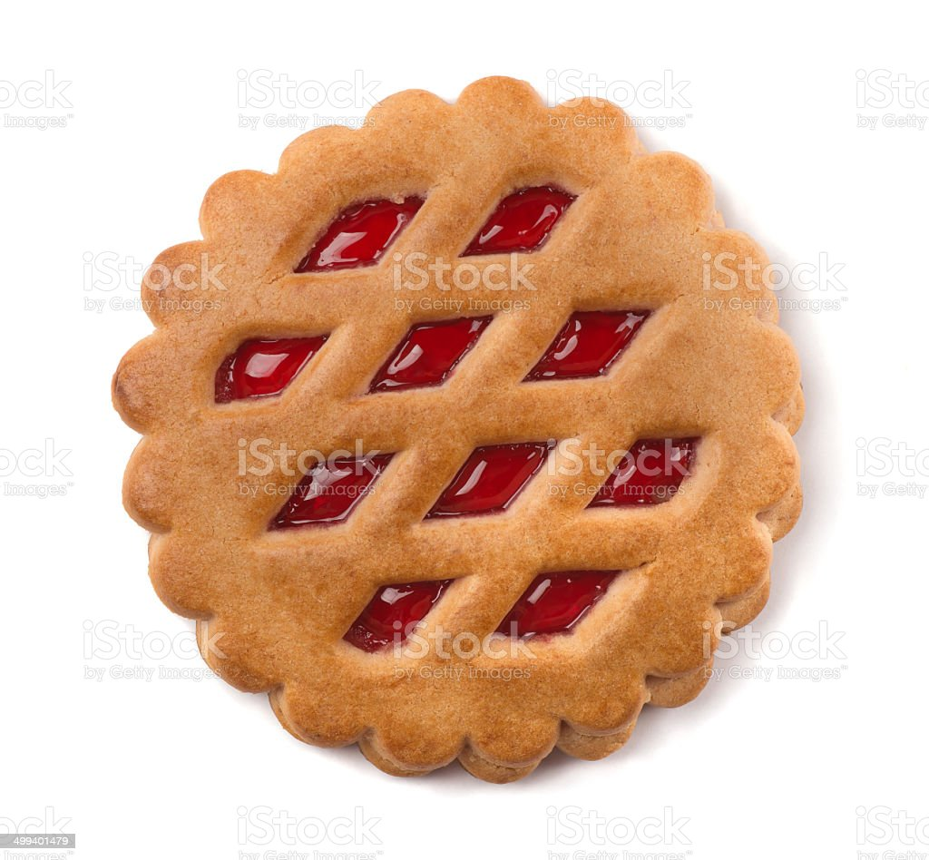 Fruit cookie stock photo
