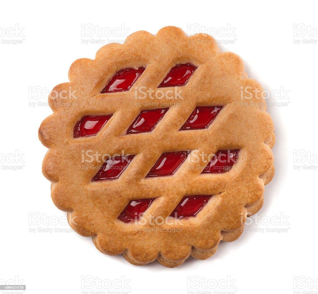 Fruit cookie stock photo