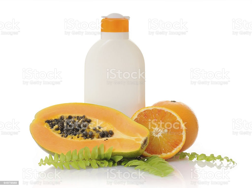 fruit cosmetic royalty-free stock photo
