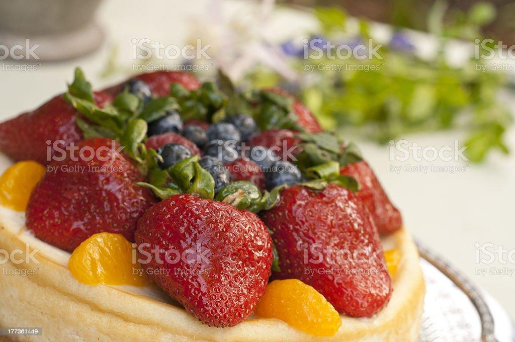 Postre de frutas foto de stock libre de derechos