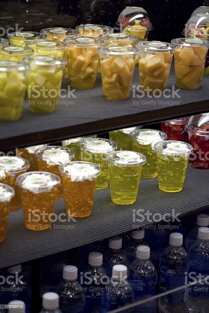 Fruit display case royalty-free stock photo