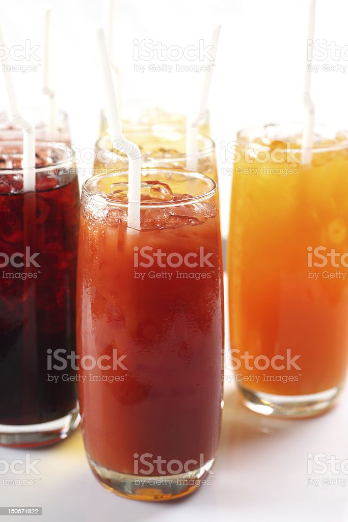 fruit drinks royalty-free stock photo