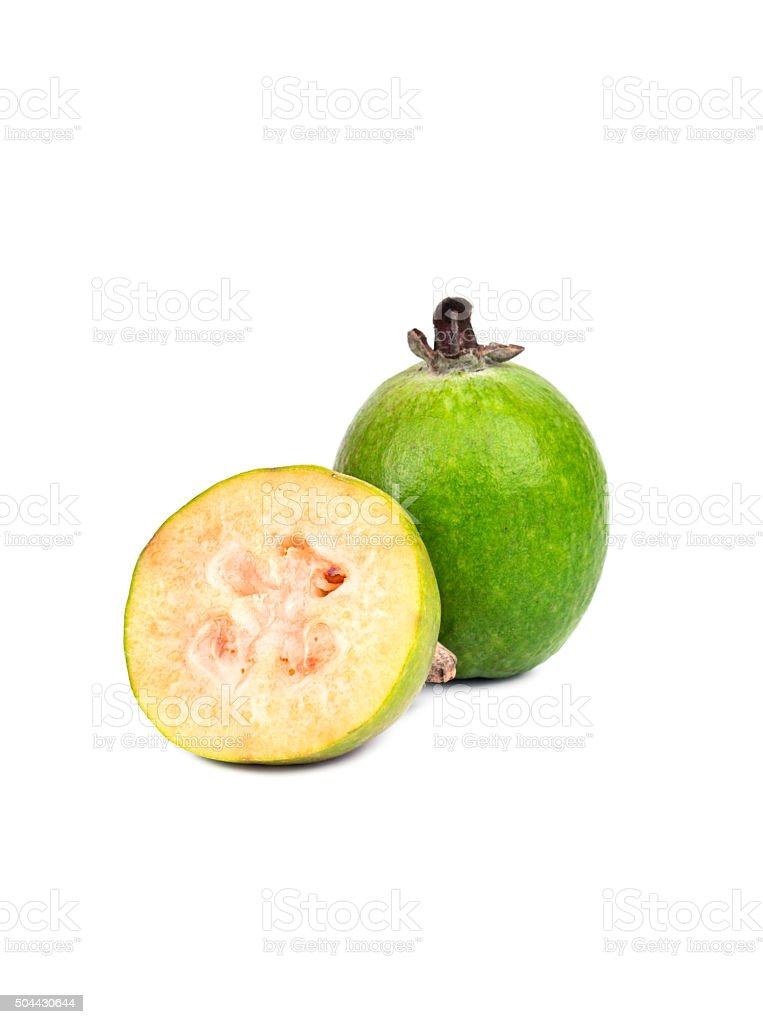 Fruit feijoa stock photo