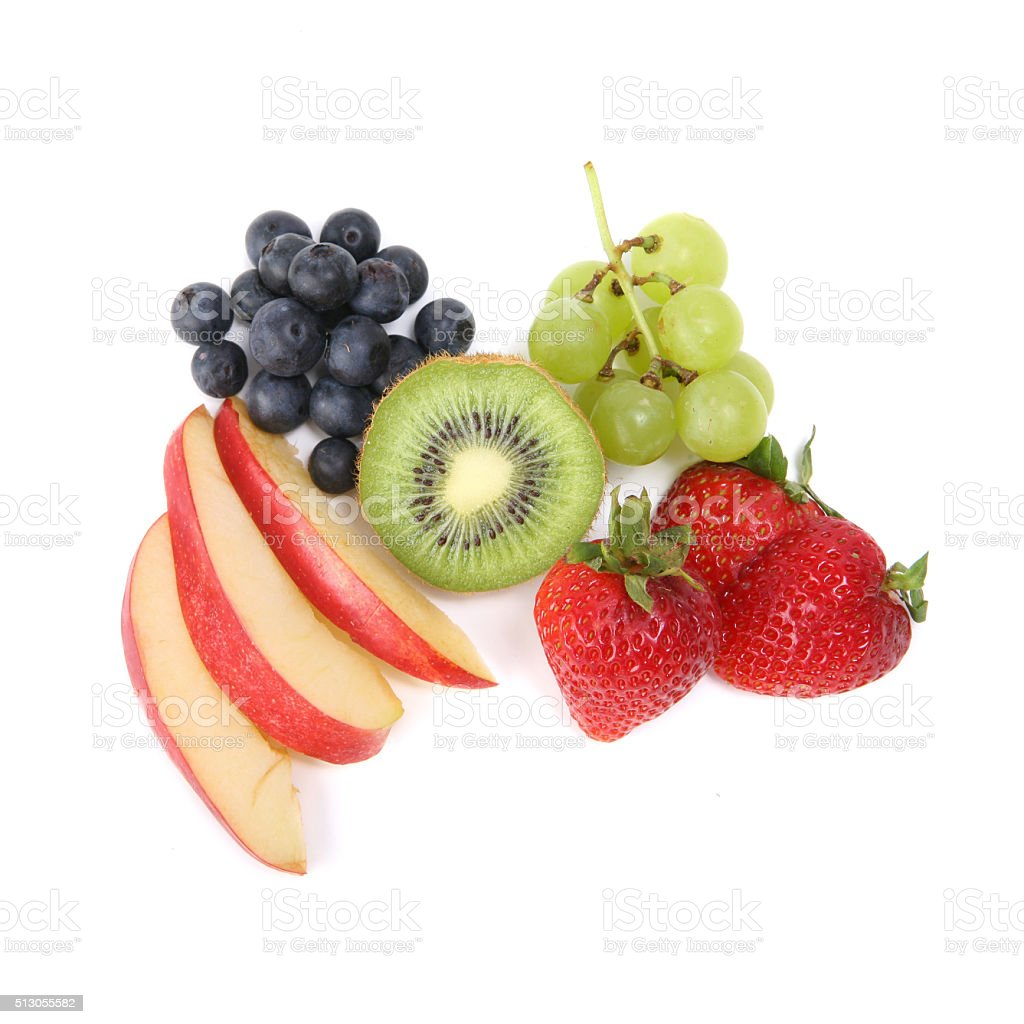 Fruit Food Group stock photo