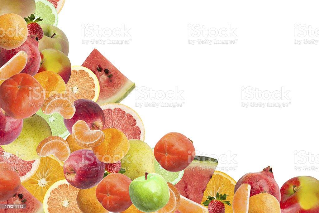 Fruit frame royalty-free stock photo