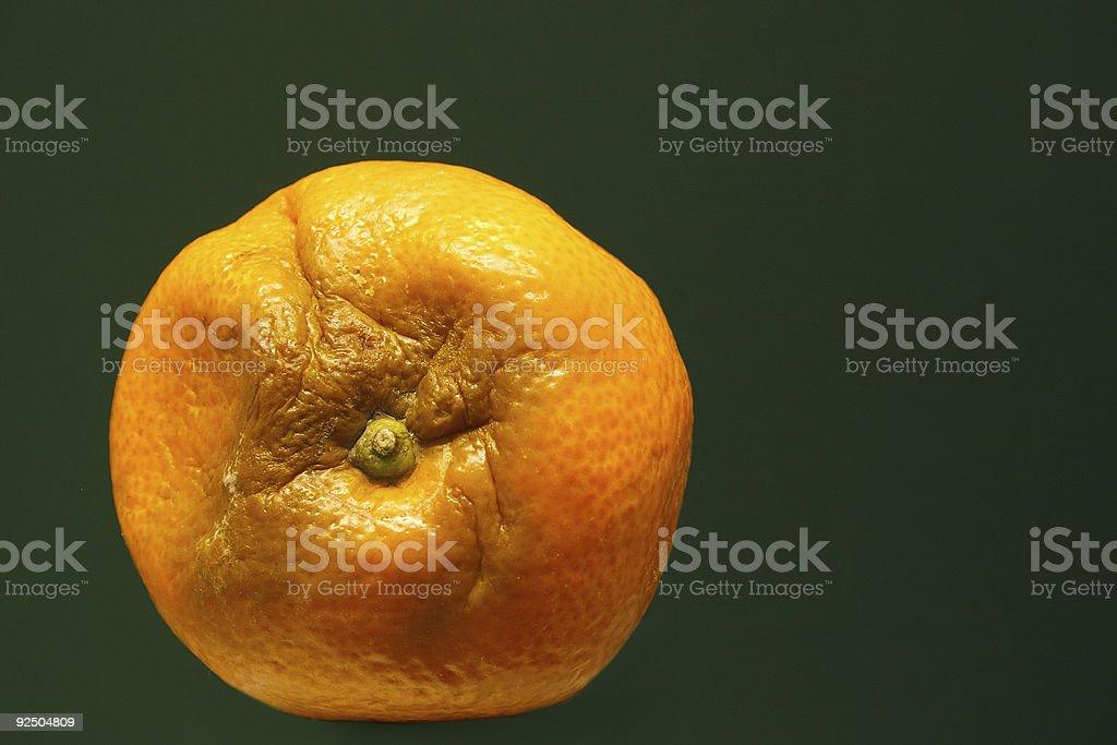 fruit gone 'bad' stock photo