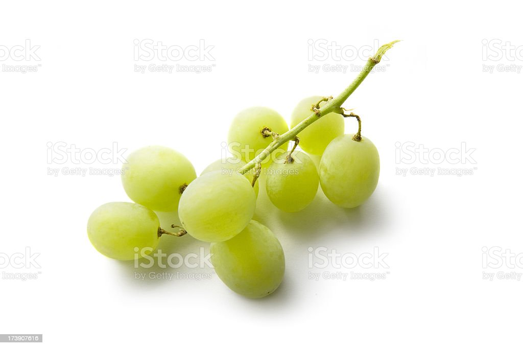 Fruit: Green Grape stock photo