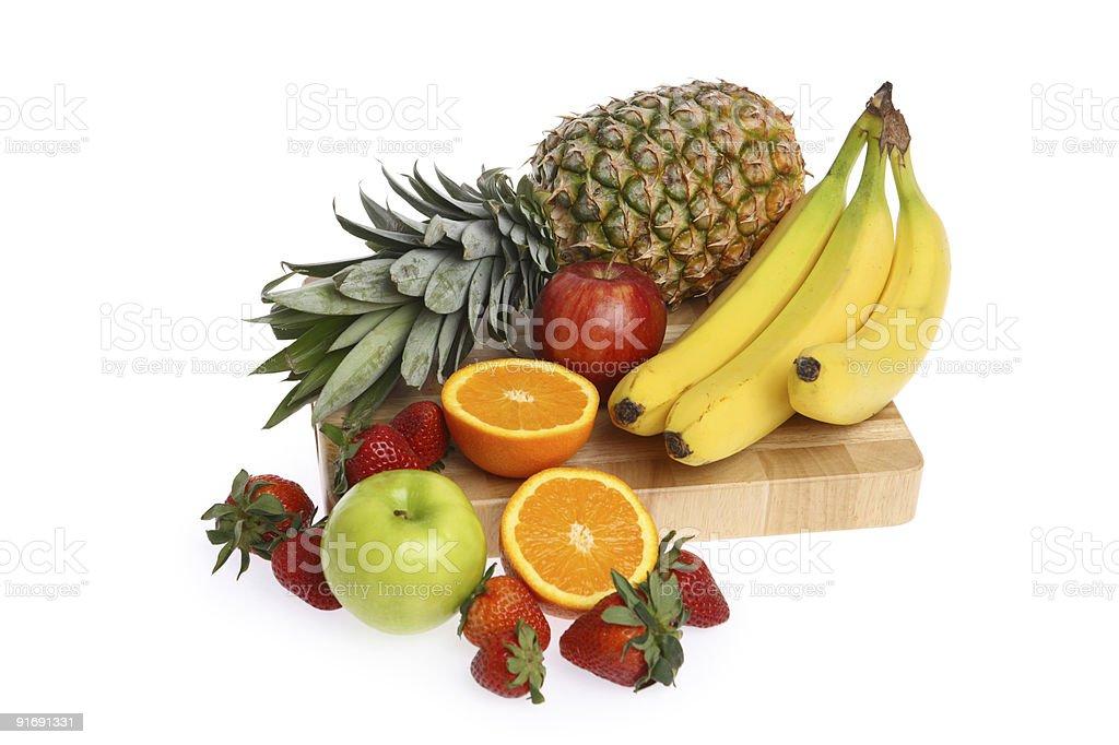 Fruit group royalty-free stock photo