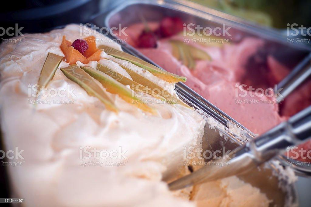 Fruit icecream royalty-free stock photo