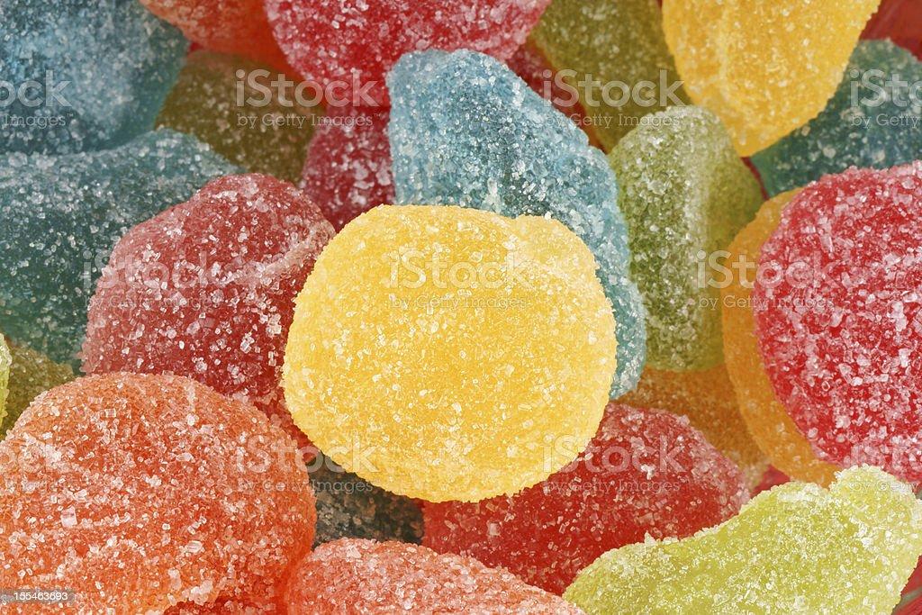 Fruit jellies background royalty-free stock photo