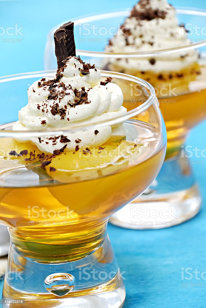 Fruit jelly royalty-free stock photo